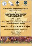 Second Call for Abstracts