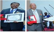 Prof. Lukman and Dr. Yirgu Honored with Lifetime Achievement Award